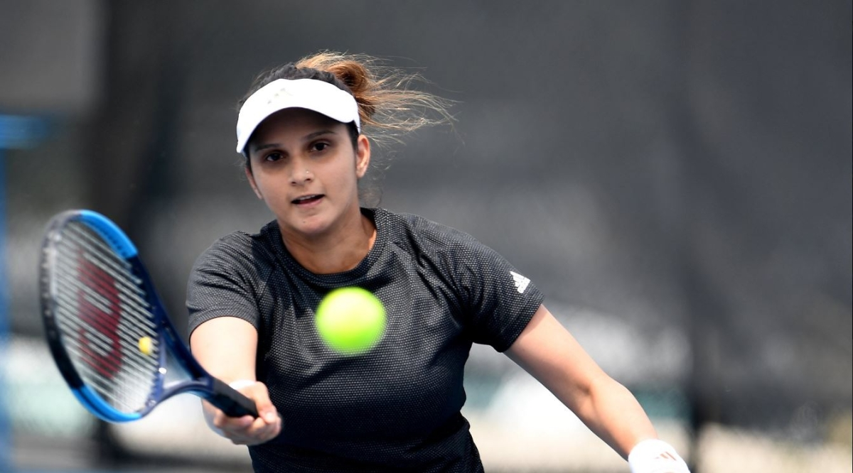 Sania Mirza Returns on Tennis court After 2 Years