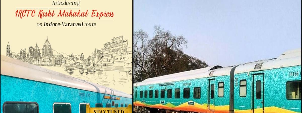 Third Private Train Kashi Mahakal Express in India