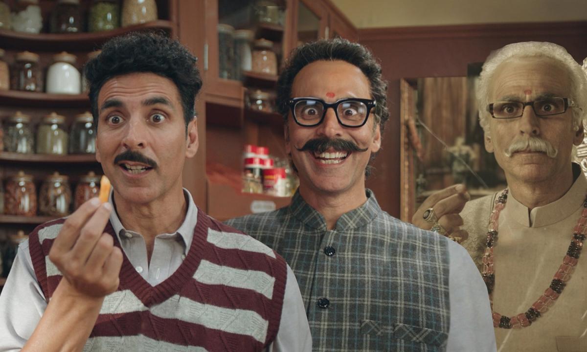 Baap Re Baap: ट्रिपल रोल में अक्षय कुमार, शेयर की यह तस्वीर