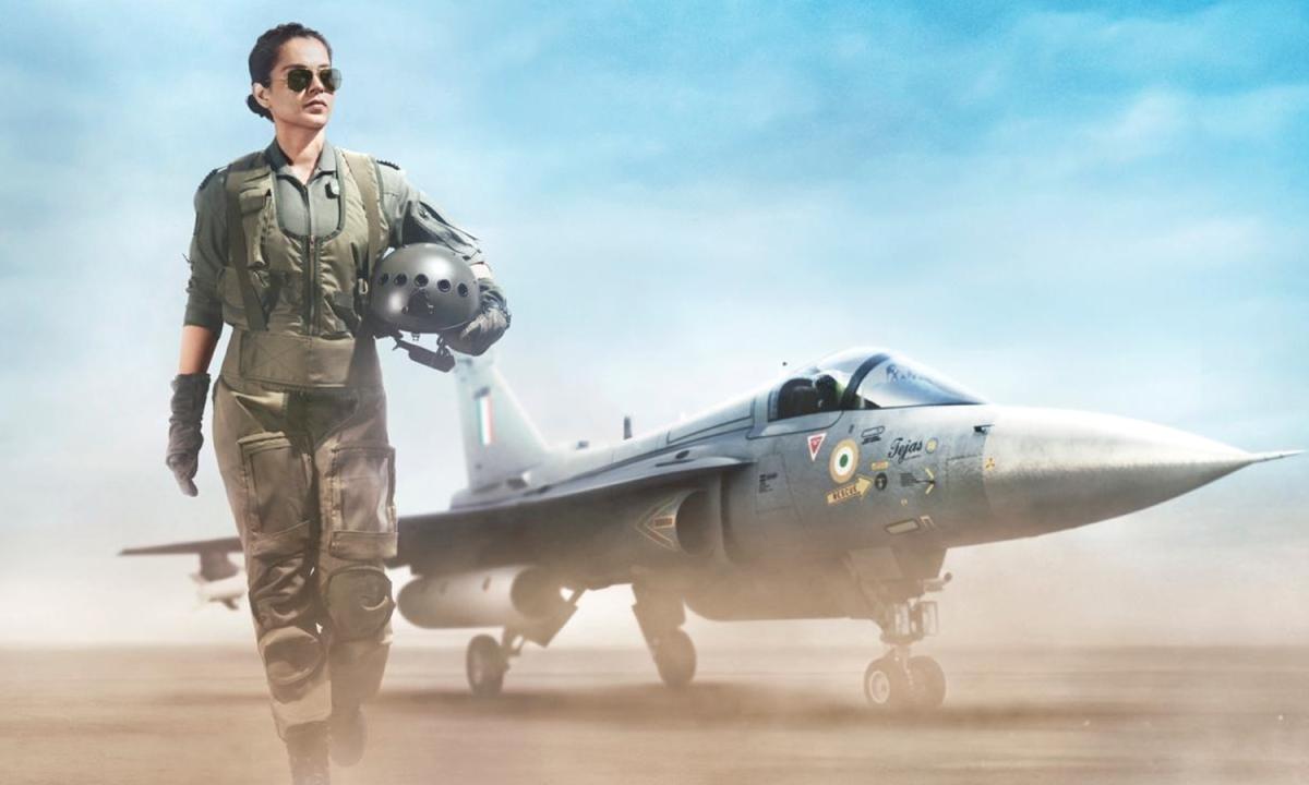 एयरफोर्स पायलट के किरदार में कंगना रनौत, Tejas का फर्स्ट लुक