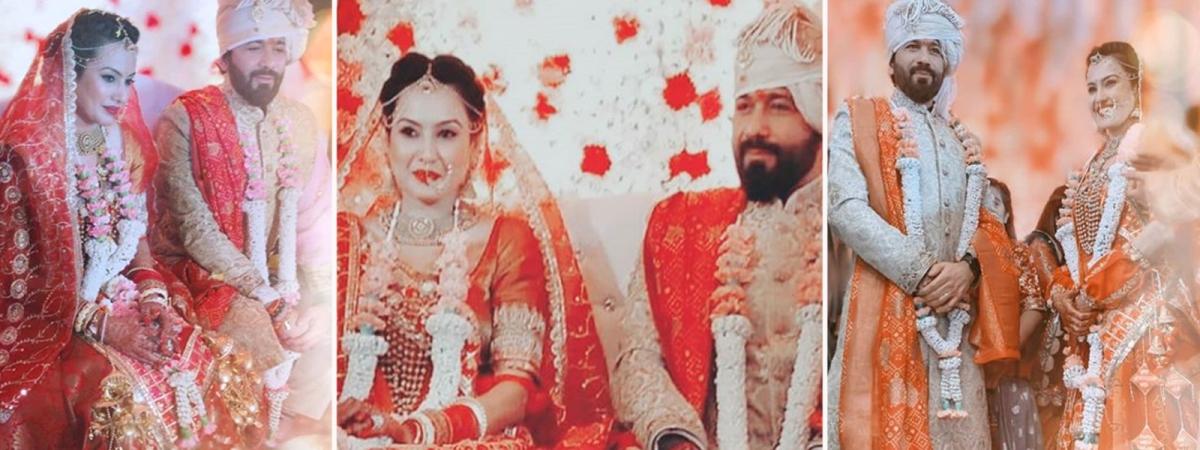 काम्या पंजाबी और शलभ डांग की शादी