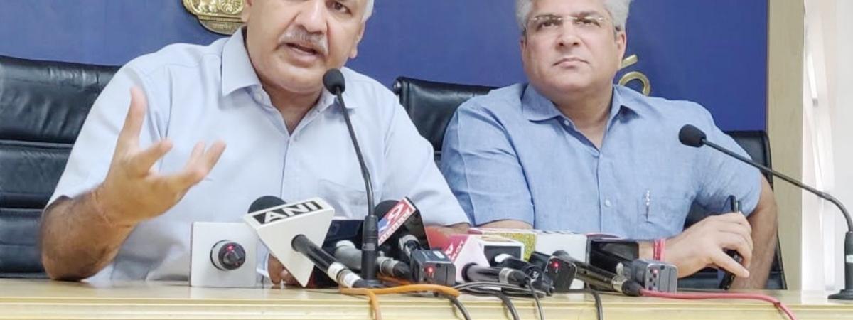 Manish Sisodia Press Conference