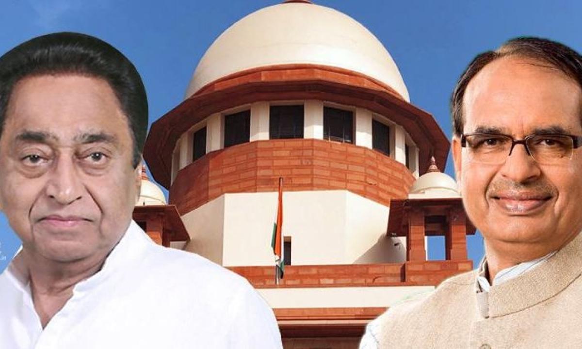 SC में कांग्रेस के वकील बोले दोबारा चुनाव में जाएं बागी विधायक