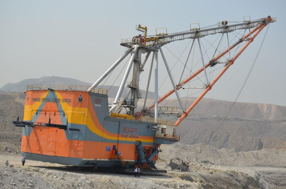 NCL के निगाही क्षेत्र ने हासिल किया कोयला उत्पादन और प्रेषण लक्ष्य