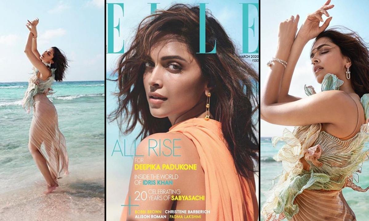 Elle Magazine के कवर पेज पर छाईं दीपिका पादुकोण, देखें तस्वीरें