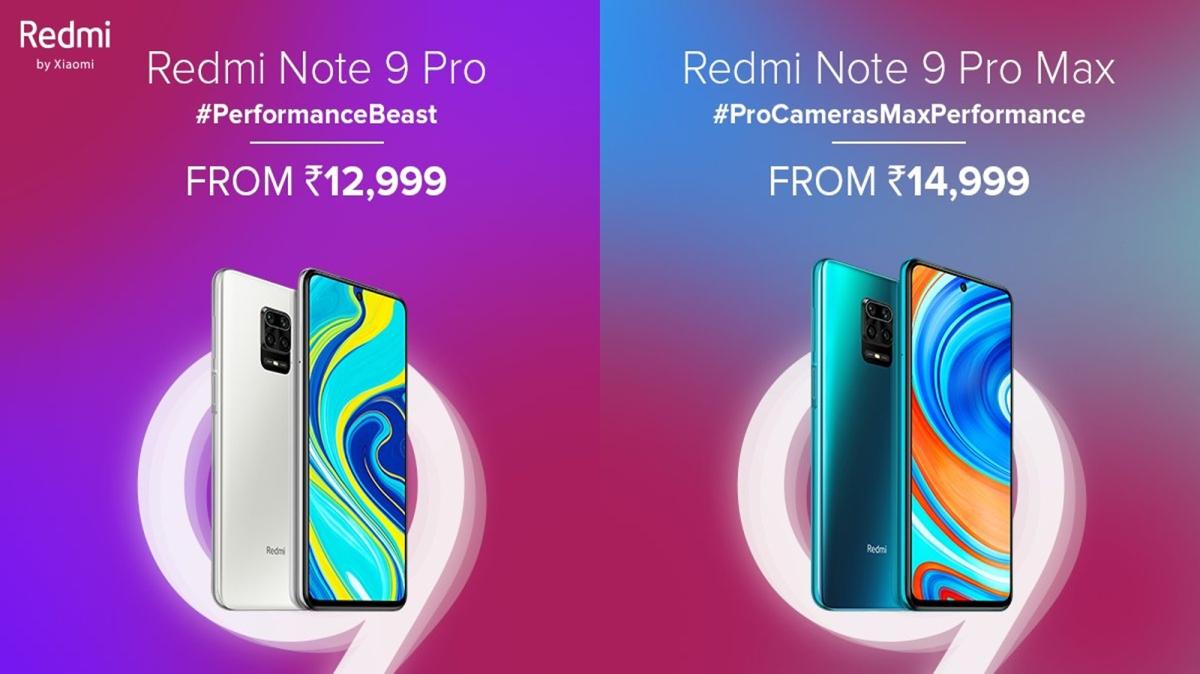 Xiaomi ने भारत में लांच किये Redmi Note 9 की सीरीज के स्मार्टफोन्स