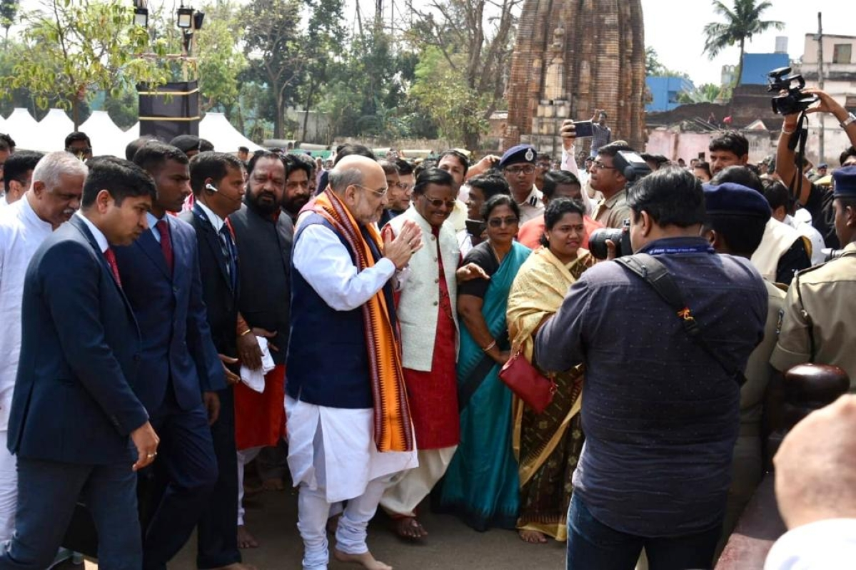 गृह मंत्री शाह आज CAA पर कोलकाता में रैली को संबोधित करेंगे