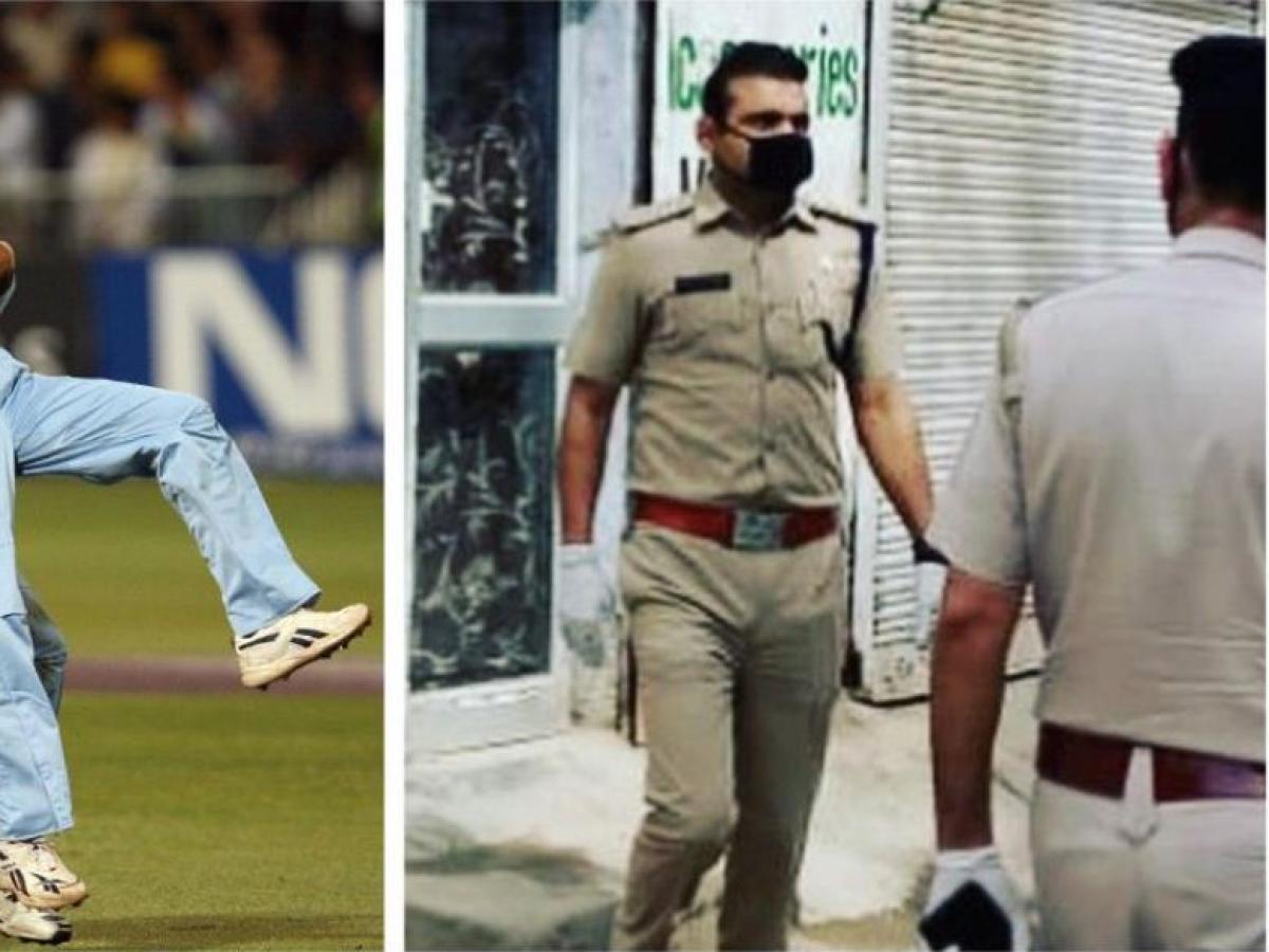 पुलिस की ड्यूटी निभा रहे इस भारतीय गेंदबाज को ICC ने कहा रियल हीरो