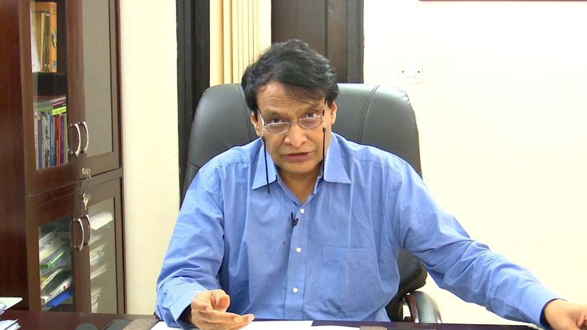 Suresh Prabhu Isolated himself Due To Coronavirus
