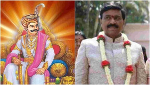 Iconography at big fat wedding and Janardhan Reddy's delusion of reincarnation