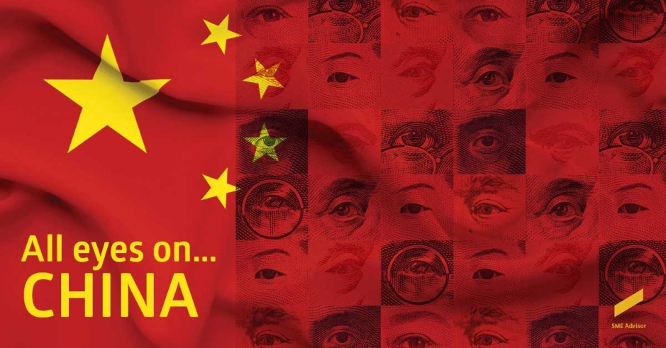 All eyes on…China