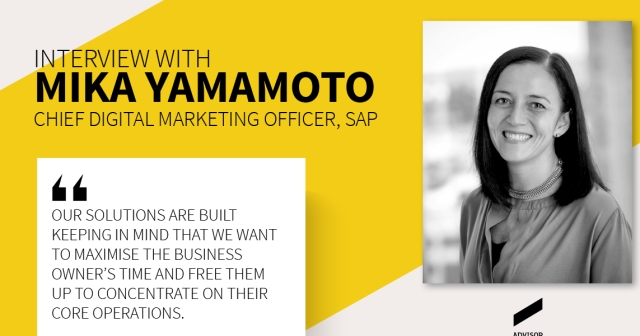 Interview: Mika Yamamoto  Chief Digital Marketing Officer, SAP