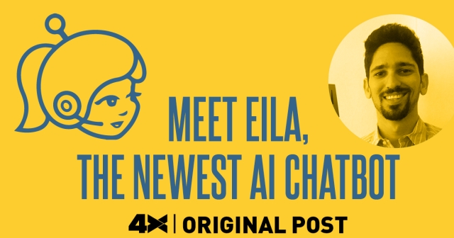 Meet Eila, the newest AI chatbot!