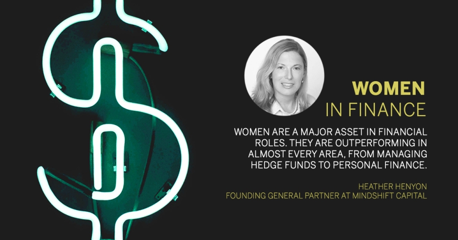 Reinventing roles: Women in finance