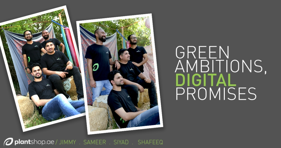 Green ambitions, digital promises: Plantshop.ae