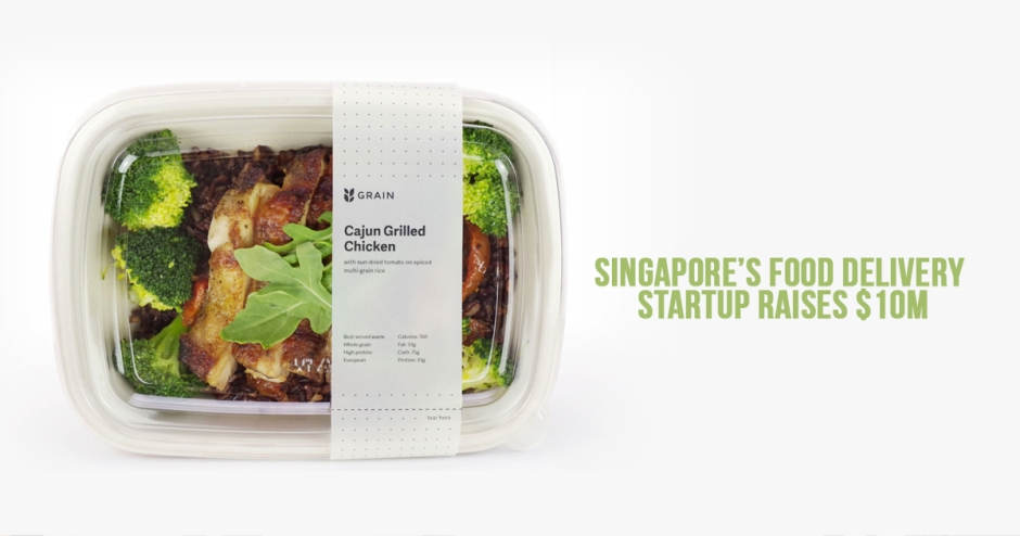 Singapore's food delivery startup raises $10M
