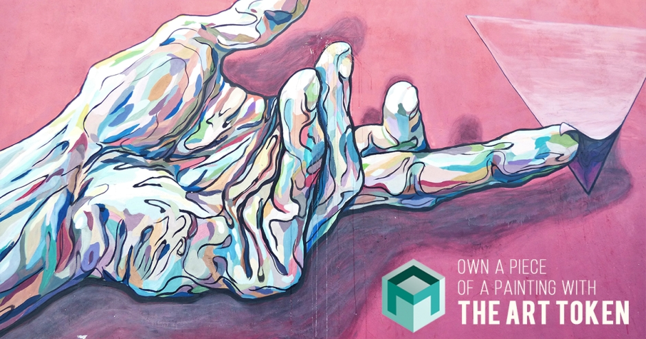 Own a piece of a painting with The Art Token