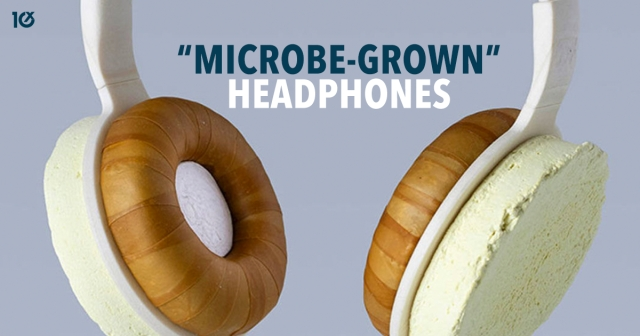 "Could ""microbe-grown"" headphones be the future?"