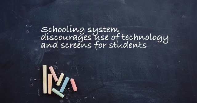 Tech in classrooms: Good idea?