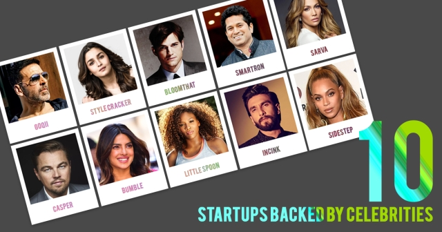 Fame, Fortune & Founders: 10 startups backed by celebrities
