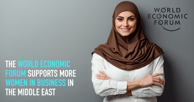 The World Economic Forum supports more women in business in the Middle East