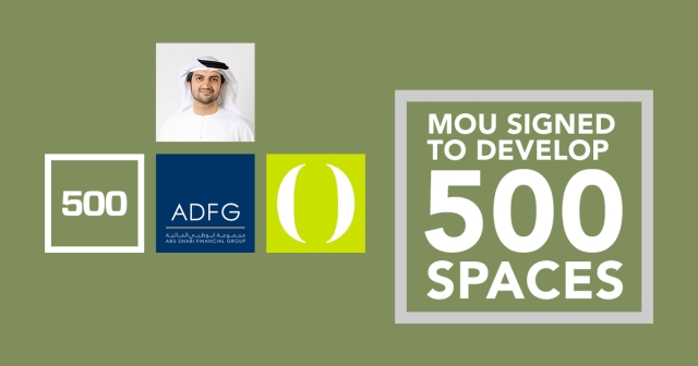 MoU signed to develop 500 Spaces