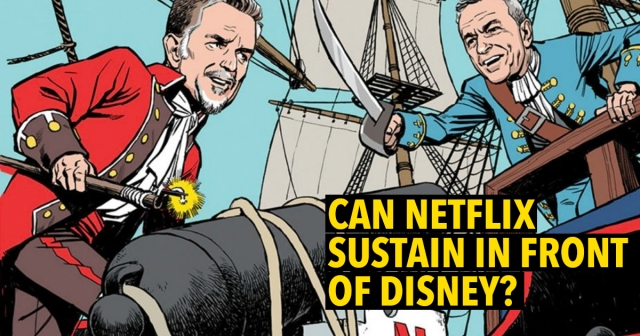 Can Netflix sustain in front of Disney?