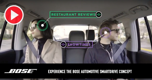 Experience the Bose Automotive SmartDrive Concept