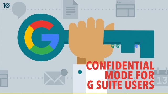 Google launches confidential mode for G Suite users