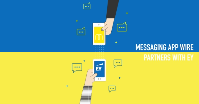 Messaging app Wire partners with EY