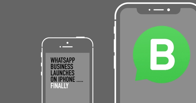 WhatsApp Business launches on iPhone after one year on Android