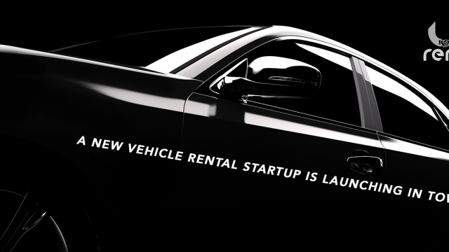 A new vehicle rental startup is launching in town