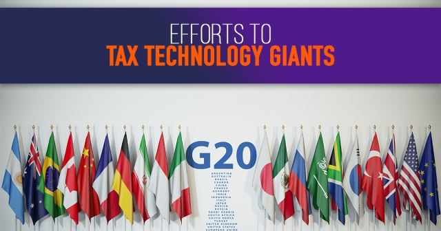 G20 agrees to increase efforts to tax technology giants