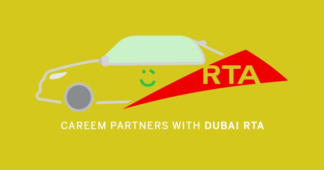 Careem partners with Dubai RTA to launch taxi service