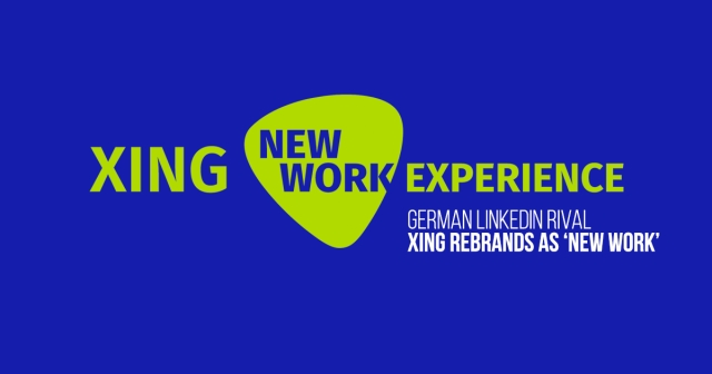 German LinkedIn rival Xing rebrands as New Work