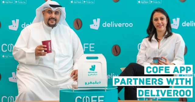 COFE app partners with Deliveroo