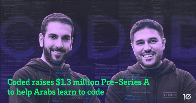 Coded raises $1.3 million Pre-Series A to help Arabs learn to code