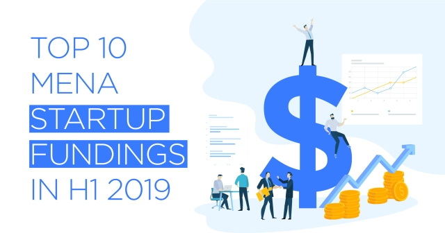 Top 10 MENA startup fundings in H1 2019