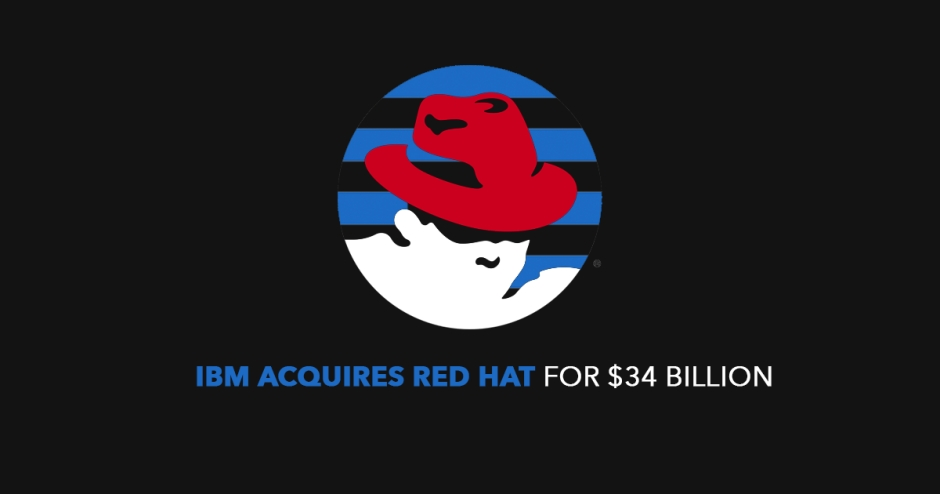IBM acquires Red Hat for $34 billion