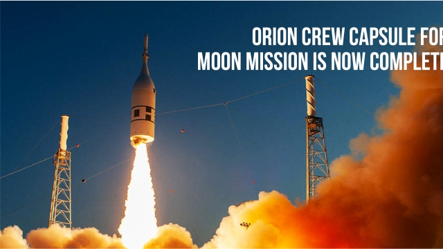 Orion crew capsule for moon mission is now complete
