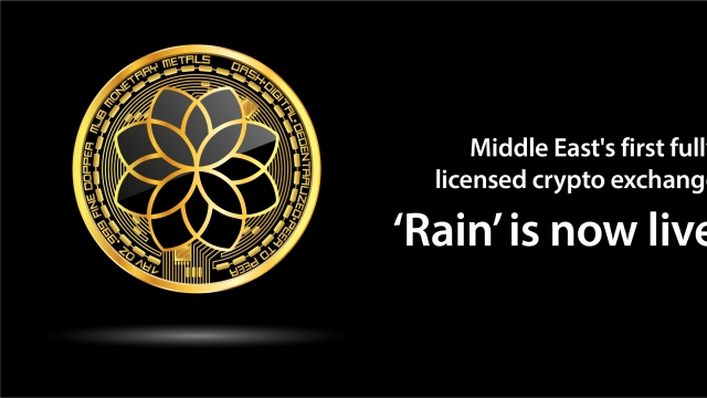 Middle East's first fully licensed crypto exchange 'Rain' is now live