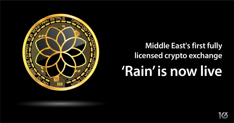 MENA's first fully licensed crypto exchange 'Rain' is now live | SME10X