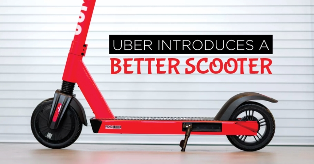 Uber introduces a better scooter