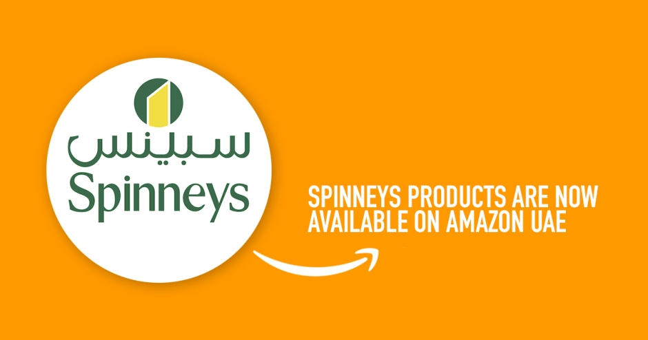 Spinneys products are now available on Amazon UAE