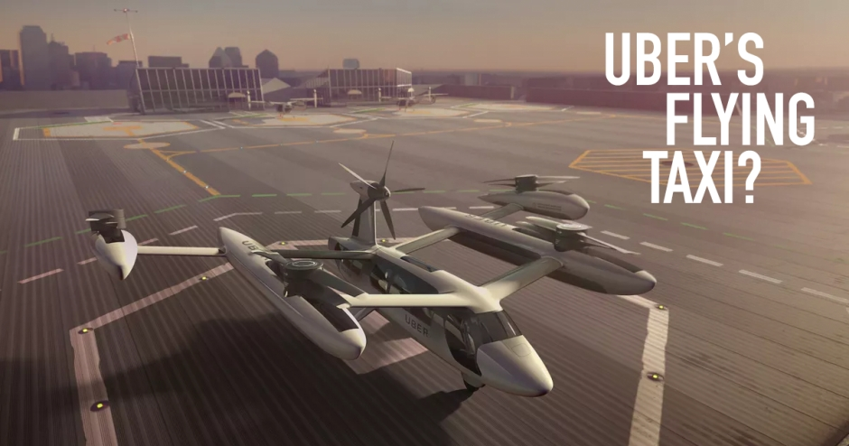 What's happening with Uber's flying taxi?
