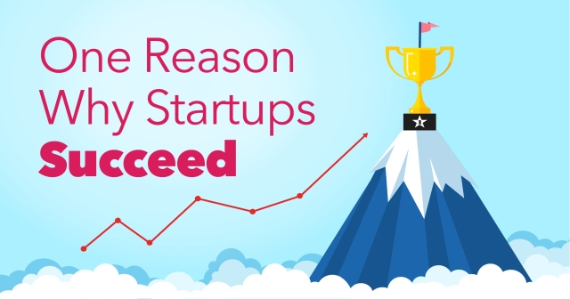 One reason why startups succeed