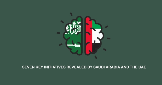 7 key initiatives revealed by Saudi Arabia and the UAE