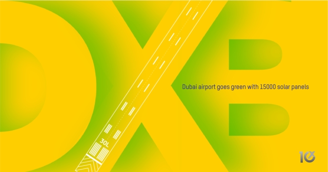 Dubai airport goes green with 15000 solar panels
