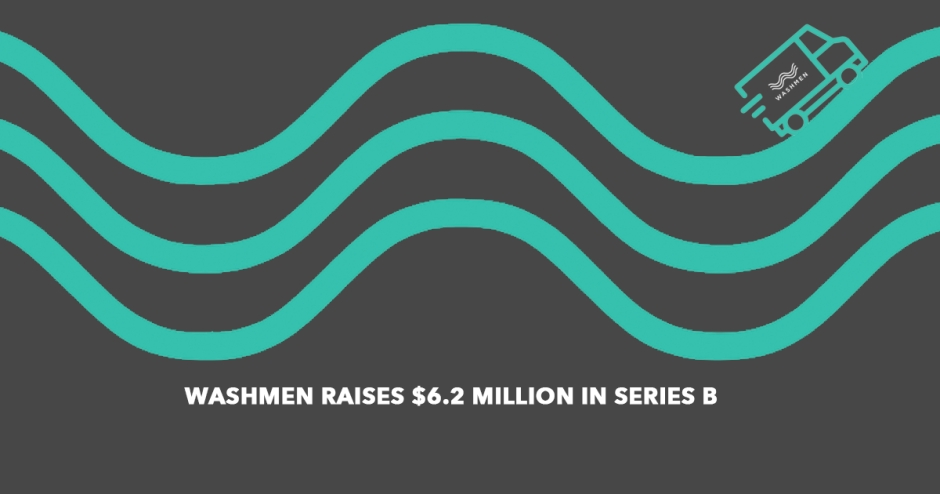 Washmen raises $6.2 million in Series B