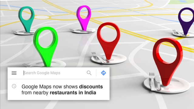 Google Maps now shows discounts from nearby restaurants in India